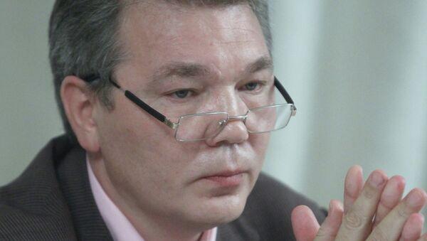 Первый заместитель председателя думского комитета по международным делам Леонид Калашников. Архивное фото