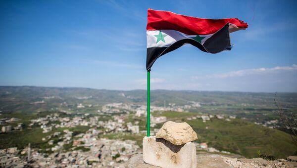 Флаг Сирии. Архивное фото.
