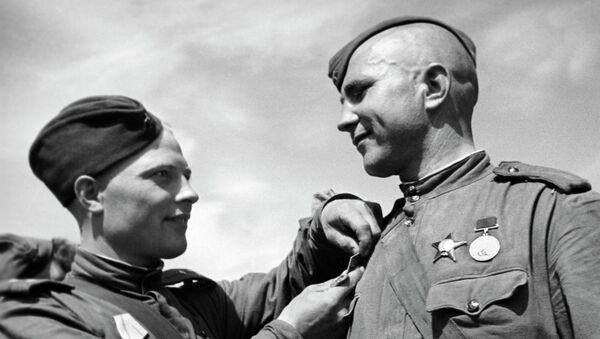 Советские солдаты. Архивное фото