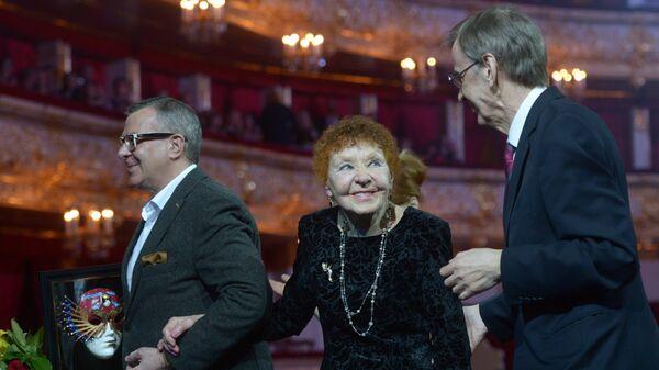 Актриса Нина Ургант на церемонии вручения премии Золотая маска