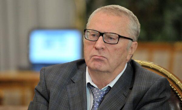 Лидер ЛДПР Владимир Жириновский, архивное фото