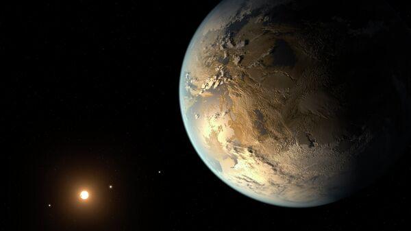 Землеподобная планета у красного карлика