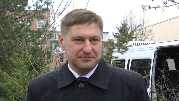 Александр Харин, новый глава Октябрьского района Томска