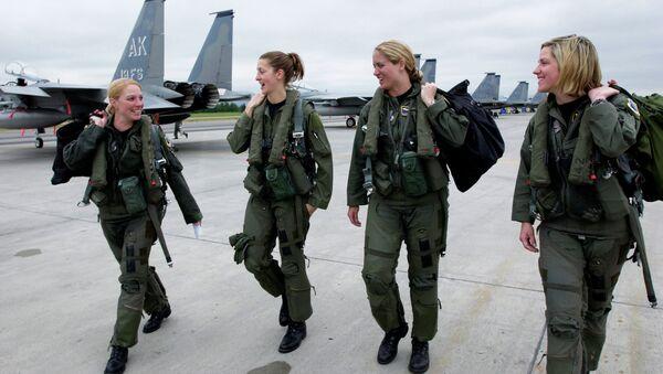 Женщины-пилоты ВВС США
