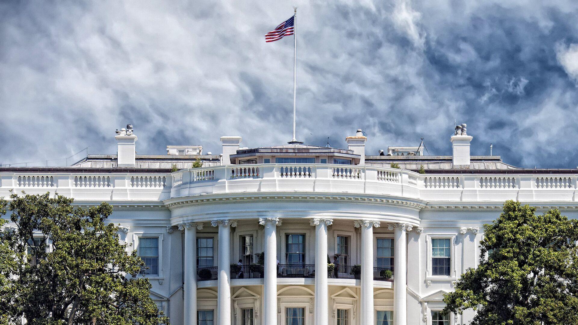 Здание Белого дома в Вашингтоне - РИА Новости, 1920, 11.06.2021