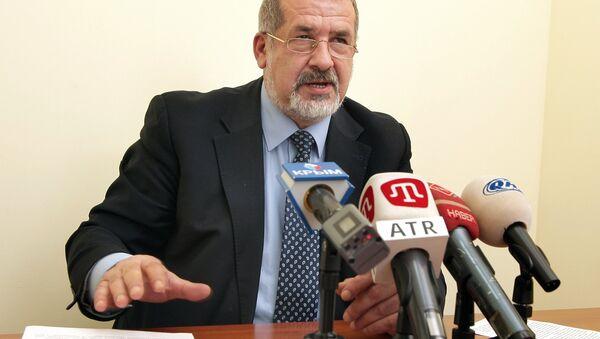 Депутат Рады Рефат Чубаров. Архивное фото