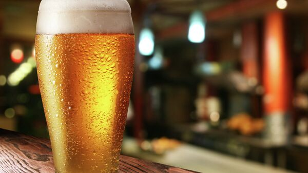Стакан пива, архивное фото