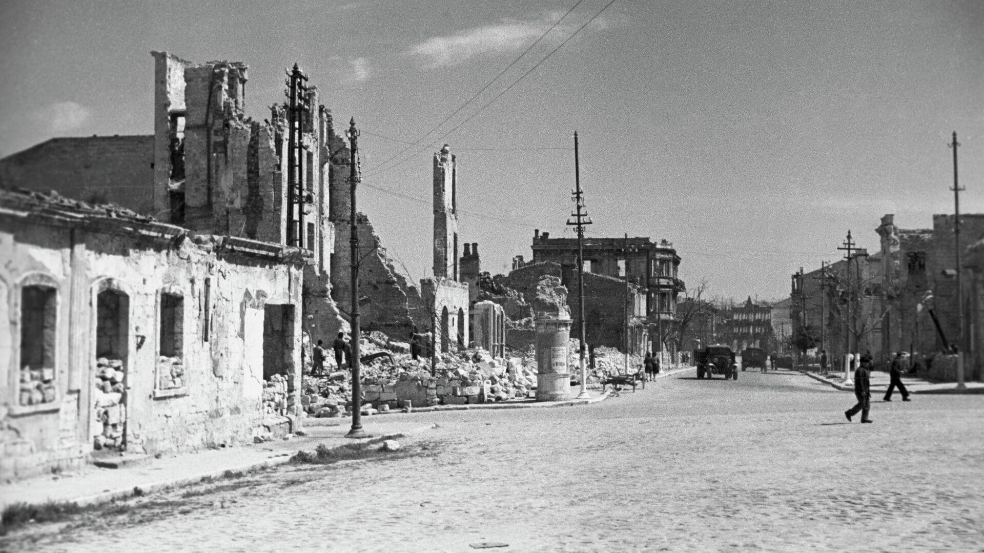 Великая Отечественная война 1941-1945 годов. Руины Севастополя - РИА Новости, 1920, 30.12.2020