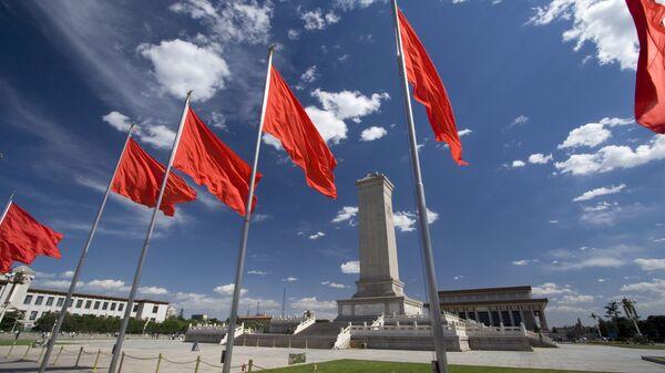 Площадь Тяньаньмэнь в центре Пекина