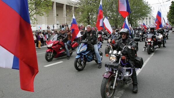 Байкеры в Крыму. Архивное фото