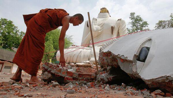 Последствия землетрясения в Таиланде. 6 мая 2014