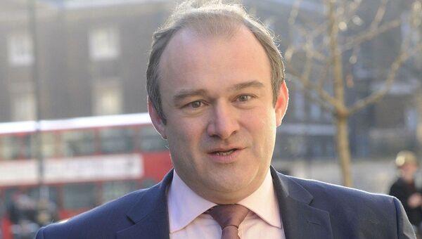 Министр энергетики Великобритании Эд Дейви