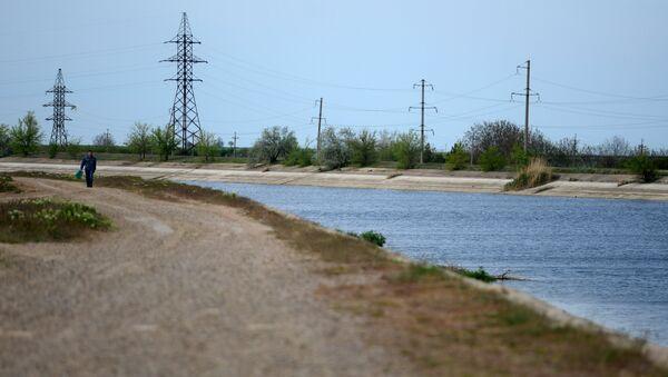 Северо-Крымский канал. Архивное фото