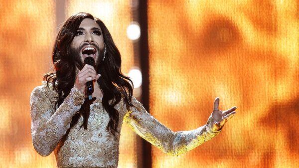 Кончита Вурст на международном конкурсе песни Евровидения-2014