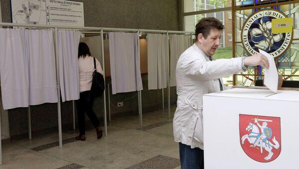 Голосование в Литве