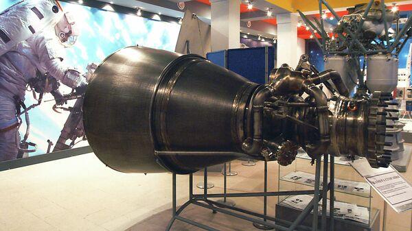 Камера сгорания ракетного двигателя РД-180. Архивное фото