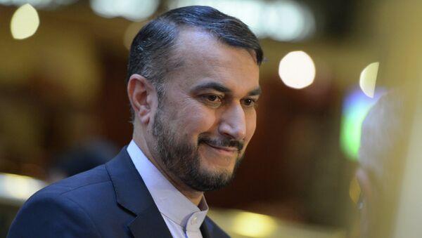 Заместитель министра иностранных дел Исламской республики Иран Хосейн Абдоллахиян. Архивное фото