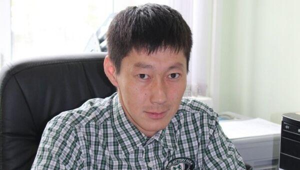Первый заместитель главы Хангаласского района Якутии Василий Афанасьев