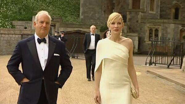 Звезды позировали перед камерами на благотворительном вечере принца Уильяма