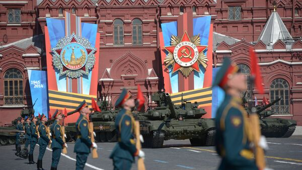 Военный парад. Архивное фото