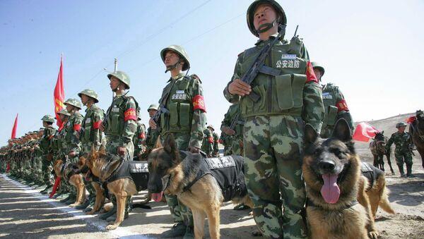 Китайские пограничники