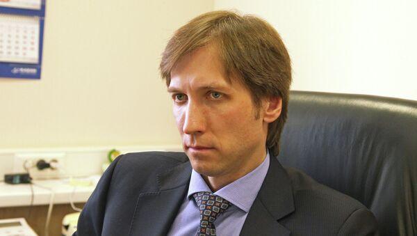Руководитель делегации Рособоронэкспорта на выставке HeliRussia 2014 Владислав Кузьмичев