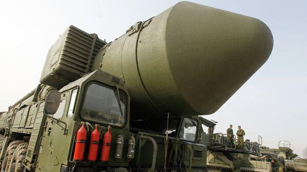 Демонстрация ракетного комплекса Тополь-М