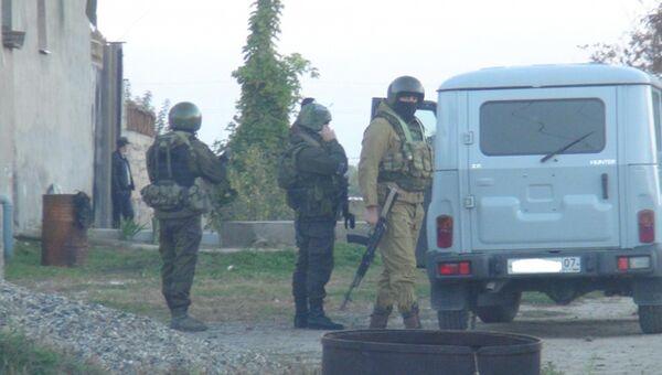 Сотрудники правоохранительных органов в Кабардино-Балкарии. Архивное фото