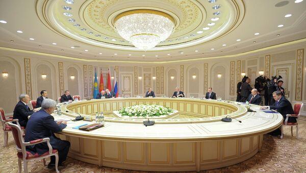 Заседание Высшего Евразийского экономического совета в расширенном составе в Минске