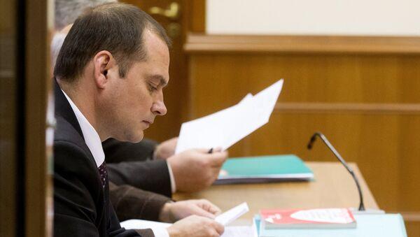 Член комитета ГД по земельным отношениям и строительству Константин Ширшов, архивное фото
