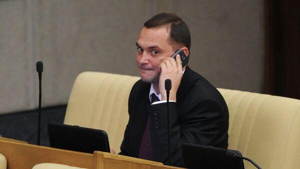 Член комитета ГД по земельным отношениям и строительству Константин Ширшов. Архивное фото