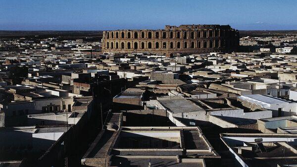 Курортный город Эль-Мехдия в Тунисе. Архивное фото