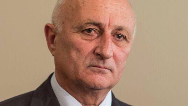 Премьер-министр Абхазии Леонид Лакербая. Архивное фото