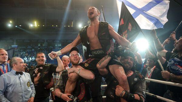 Российский боксер Дмитрий Чудинов. Архивное фото
