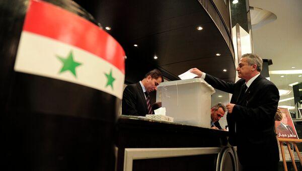 Выборы президента в Сирии
