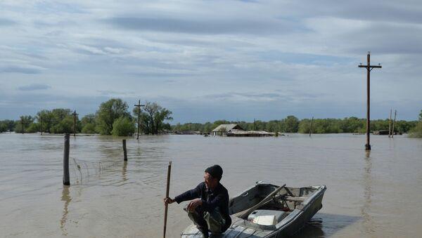 Паводок в Алтайском крае. Архивное фото