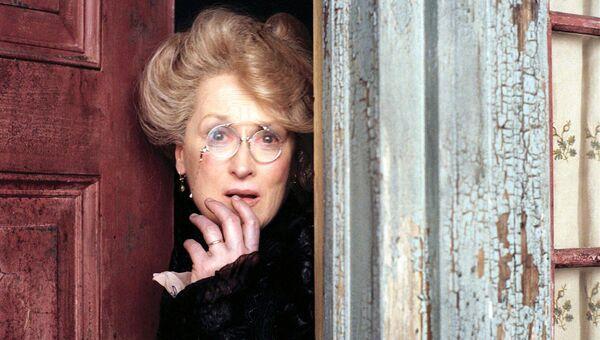 Американская актриса Мерил Стрип. Кадр из фильма Лемони Сникет: 33 несчастья