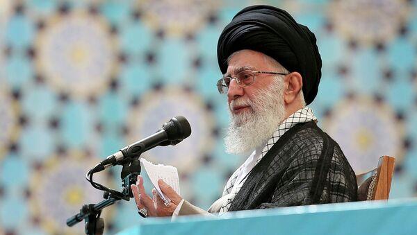 Верховный лидер Ирана аятолла Али Хаменеи. Архивное фото