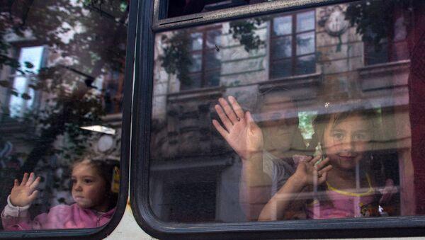 Украинские дети. Архивное фото