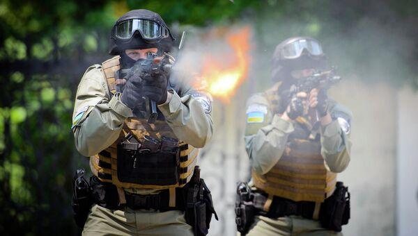 Украинский спецназ. Архивное фото