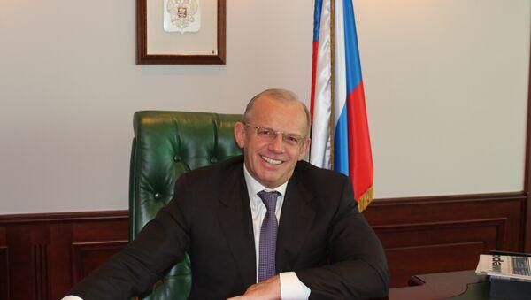 Генеральный директор НПО Высокоточные комплексы Александр Денисов, архивное фото