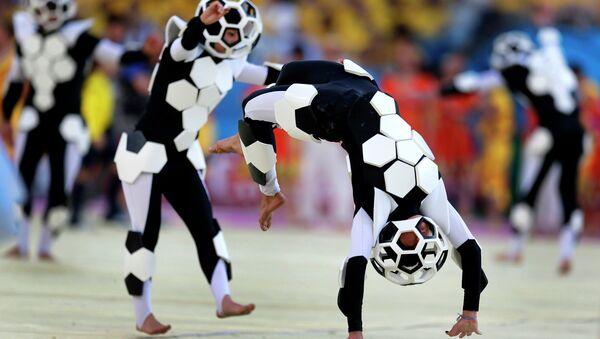 Церемония открытия чемпионата мира по футболу. Архивное фото