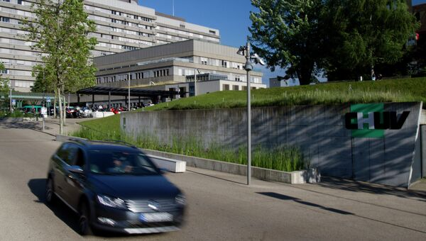 Вид на Университетскую больницу Лозанны CHUV, в которую был переведен Михаэль Шумахер. Архивное фото