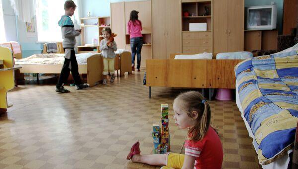 Украинские беженцы в Воронежской области. Архивное фото