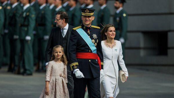 Коронация Фелипе VI в Испании. Архивное фото