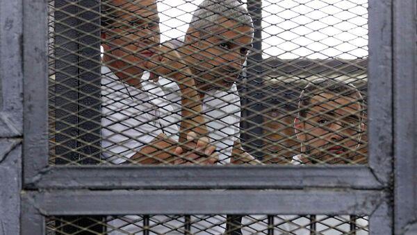 Журналисты Al Jazeera, которые были приговорены к тюремному заключению в Египте