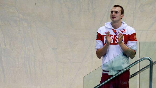 Медалист Олимпийских игр по плаванию Сергей Фесиков. Архивное фото.