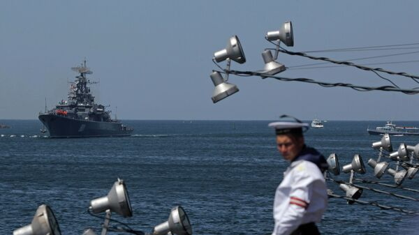 Корабль Черноморского флота РФ. Архивное фото