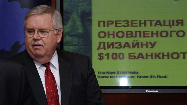 Джон Теффт в бытностью свою послом США на Украине