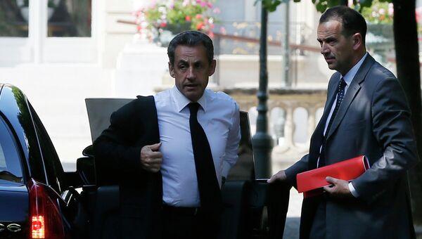 Бывший президент Франции Николя Саркози. Архивное фото